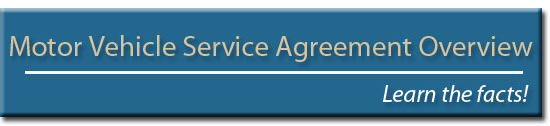 Motor Vehicle Service Agreements Overview