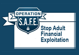 Operation SAFE slide image