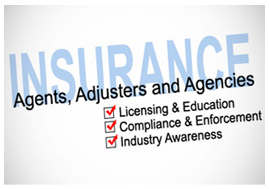 Insurance Agents, Adjusters and Agencies slide image