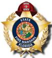 Insignia de la División del Jefe de Bomberos del Estado