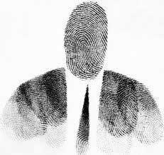 fingerprint man