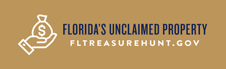 Unclaimed Property button
