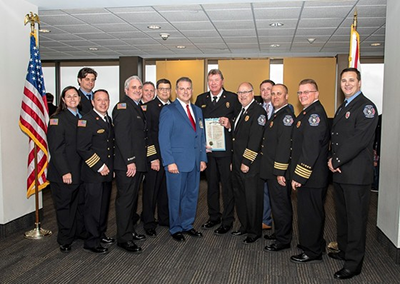 Florida Professional Firefighter of the Year – Rick Spence of the Reedy Creek Fire Department