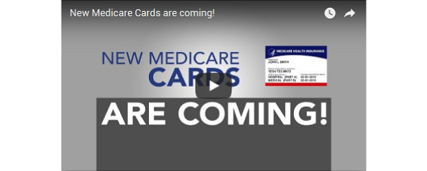 You're getting a new Medicare card