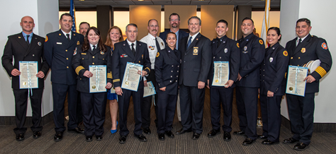 2020 Fire Service Awards image