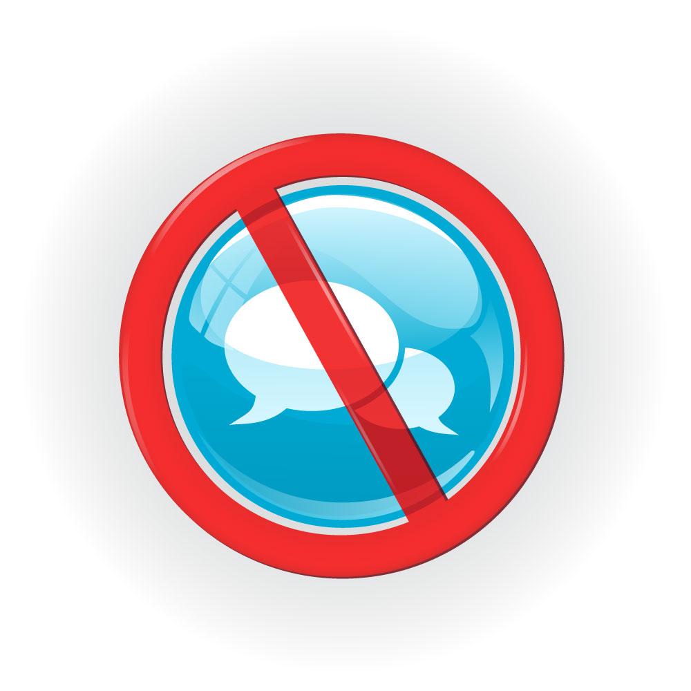 No se permite la comunicación
