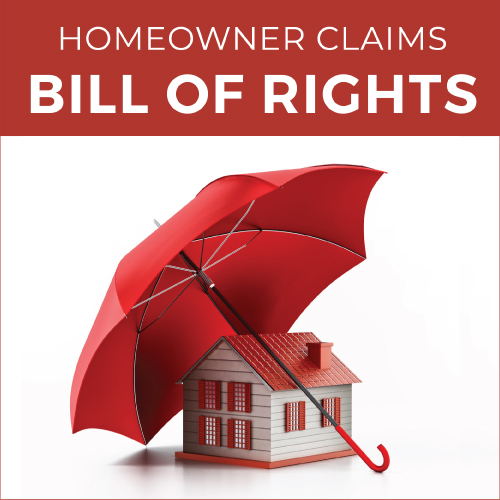 Homeowner Claims Bill of Rights Guide