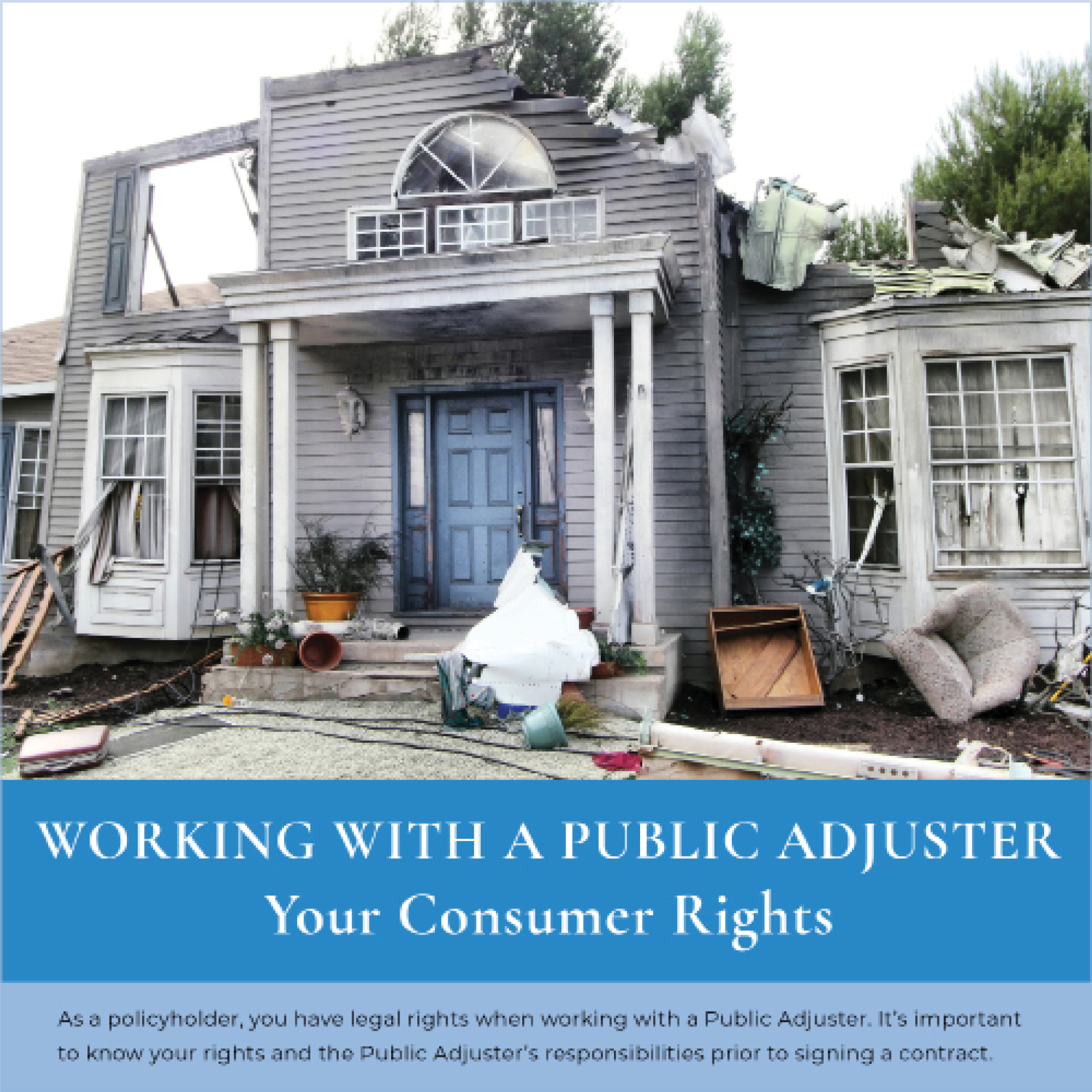 Working with a Public Adjuster Consumer Tips Guide