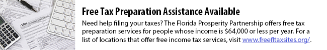 Florida Free Tax Preparation